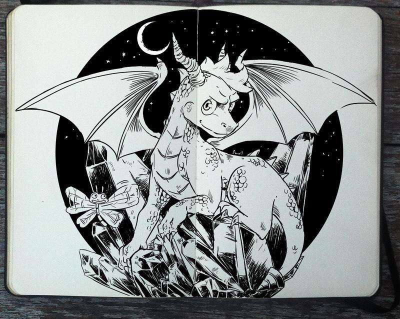 #306 Spyro the Dragon by Picolo-kun