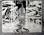 #307 Ink Tiger