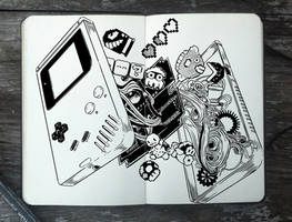 #311 Inside of a Game Boy