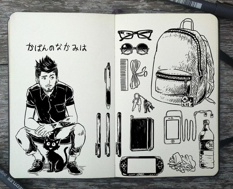 #338 Bag Content by Picolo-kun