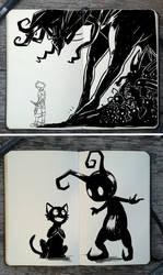 #356/357 Kingdom Hearts/Evil Friends