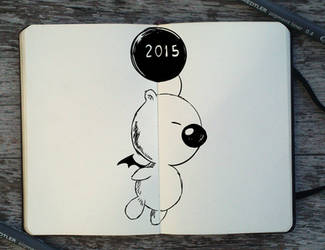 #363 Happy New Year! by Picolo-kun