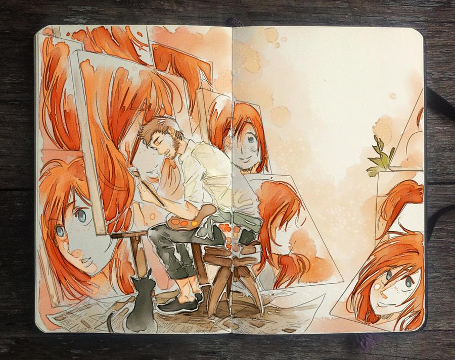 .: Beloved Canvas by Picolo-kun