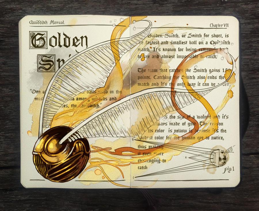 .: Golden Snitch by Picolo-kun