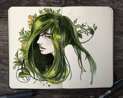 .: Garden Head by Picolo-kun