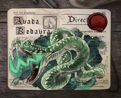 .: Harry Potter: Avada Kedavra by Picolo-kun