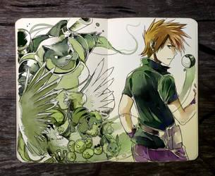 .: Green by Picolo-kun