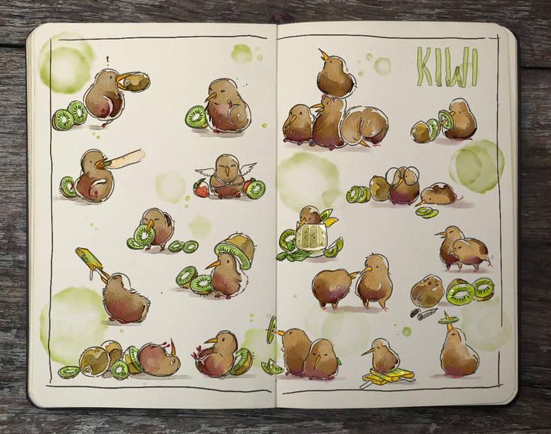 .: Kiwi by Picolo-kun