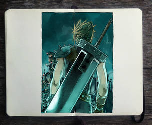 FINAL FANTASY VII REMAKE by Picolo-kun