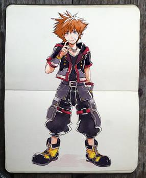 Kingdom Hearts 3 outfit!!!