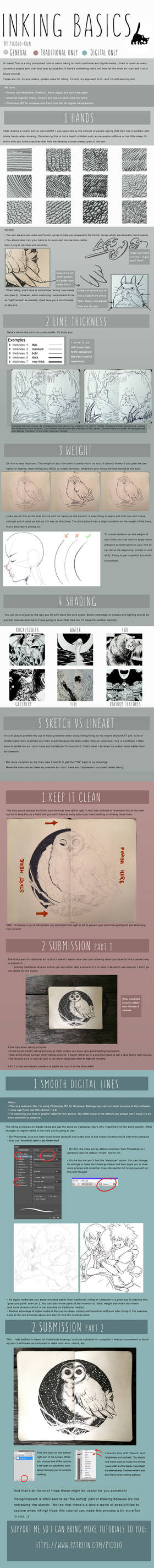 Inking Tutorial