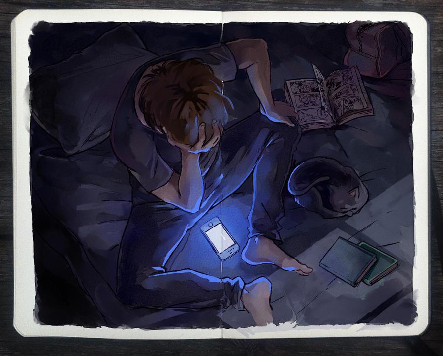.: Night Call by Picolo-kun