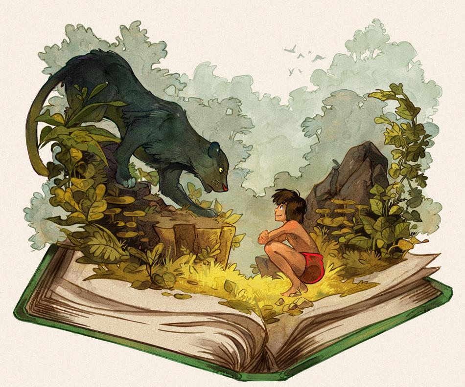 The Jungle Book By Picolo kun On DeviantArt