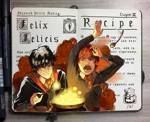 #7 Felix Felicis by Picolo-kun