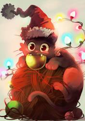 Preparing for Christmas by Picolo-kun