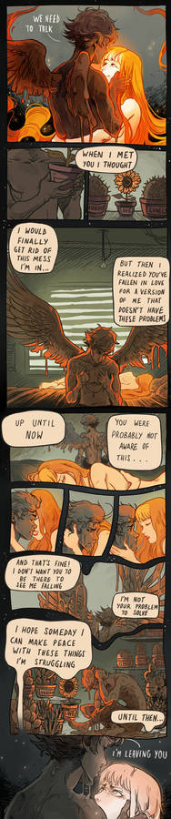 The lament of Icarus
