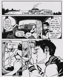 Off-duty hero by Picolo-kun