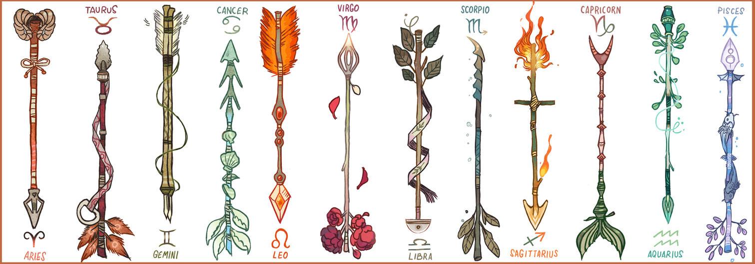 Zodiac arrows by picolo kun on deviantart zodiac arrows by picolo kun stopboris Choice Image