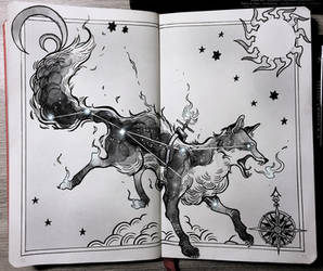 Fox Constellation by Picolo-kun