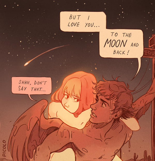 To The Moon And Back By Picolo-Kun On Deviantart-3366