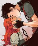 Robin and Starfire by Picolo-kun