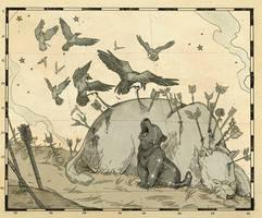 The falling star by Picolo-kun