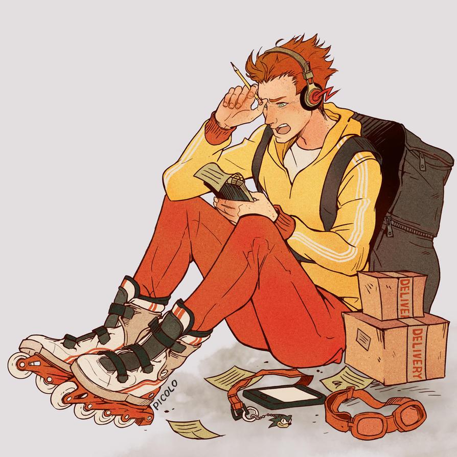 Teen Titans: Kid Flash by Picolo-kun
