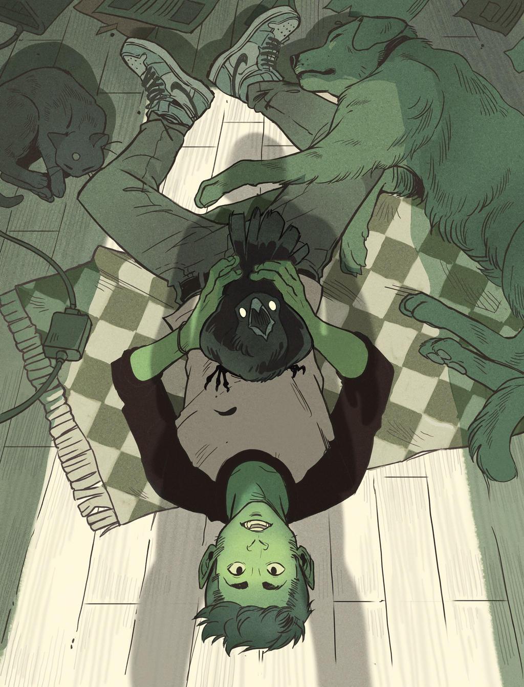 When did we adopt a raven? by Picolo-kun