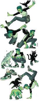 Beast Boy sneakers