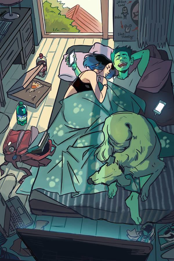 You fell asleep by Picolo-kun