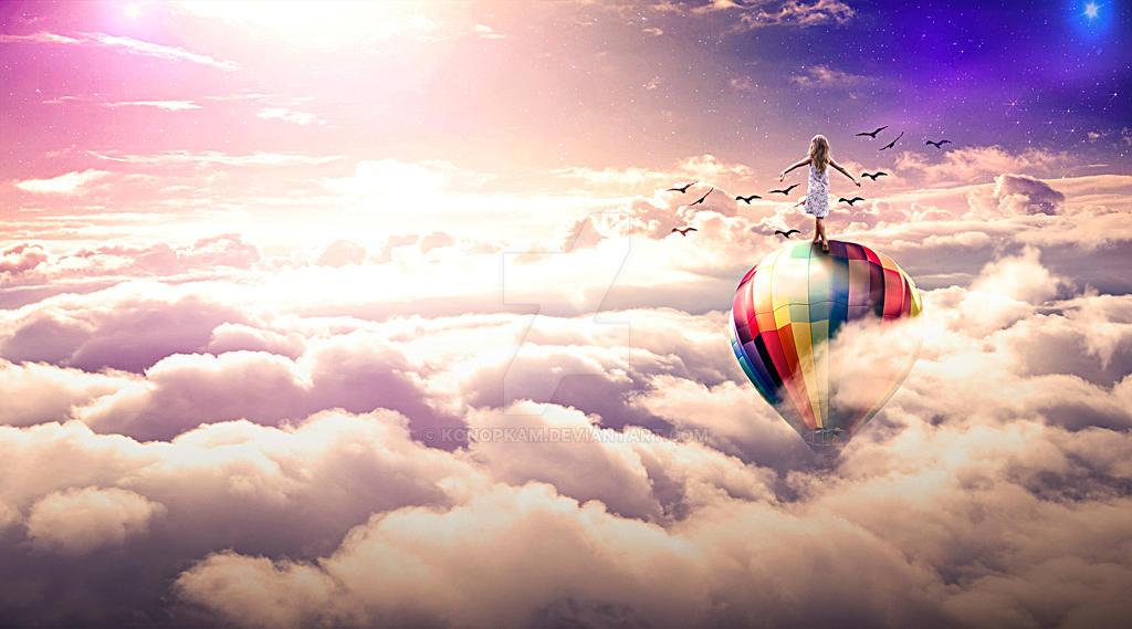 Above the Dreams by konopkam
