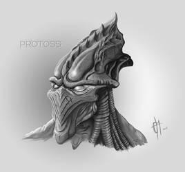 Protoss fan by makorm