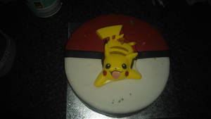 Awesome pikachu cake