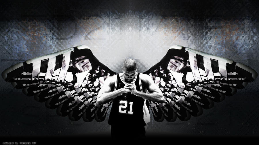 Tim duncan wings by mrdragonx on deviantart - Tim duncan iphone wallpaper ...