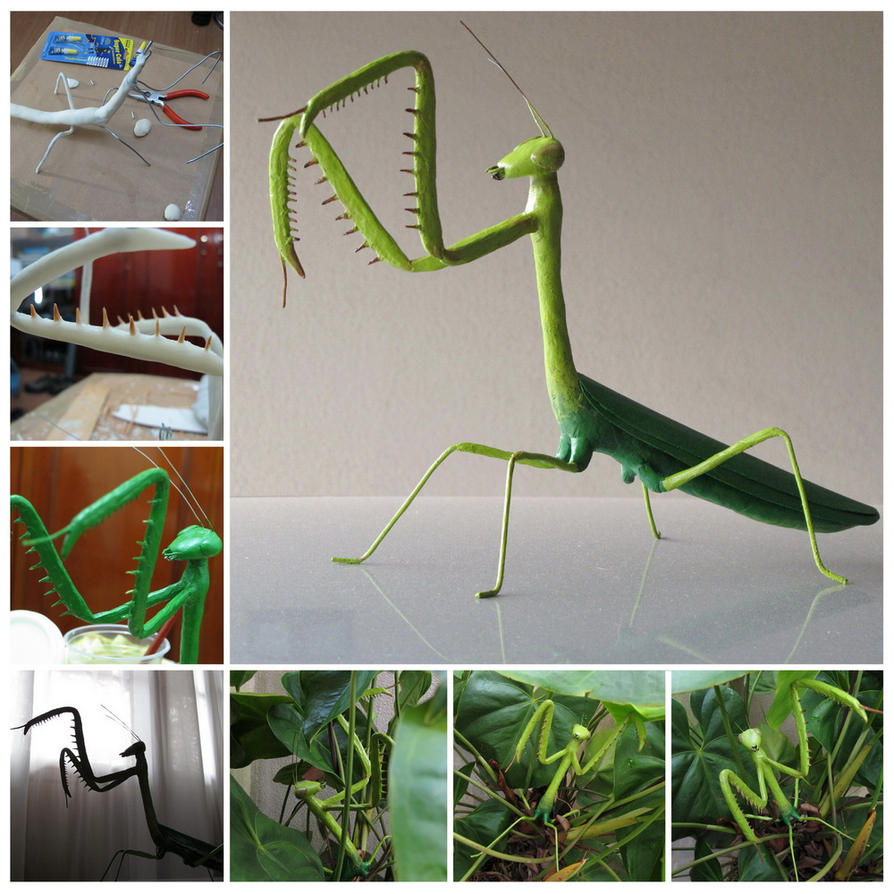 Mantis Sculpture by MrDragonX