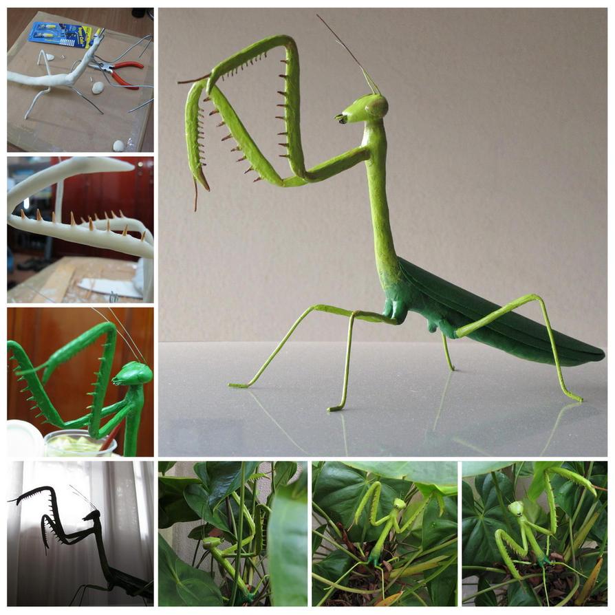 Mantis Sculpture by MrDragonX