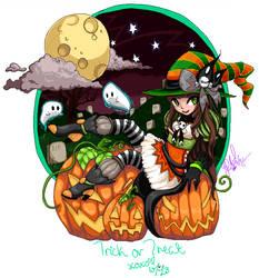 Halloween Avatar v2 by Velchosus