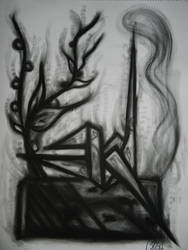 Charcoal works by Velchosus