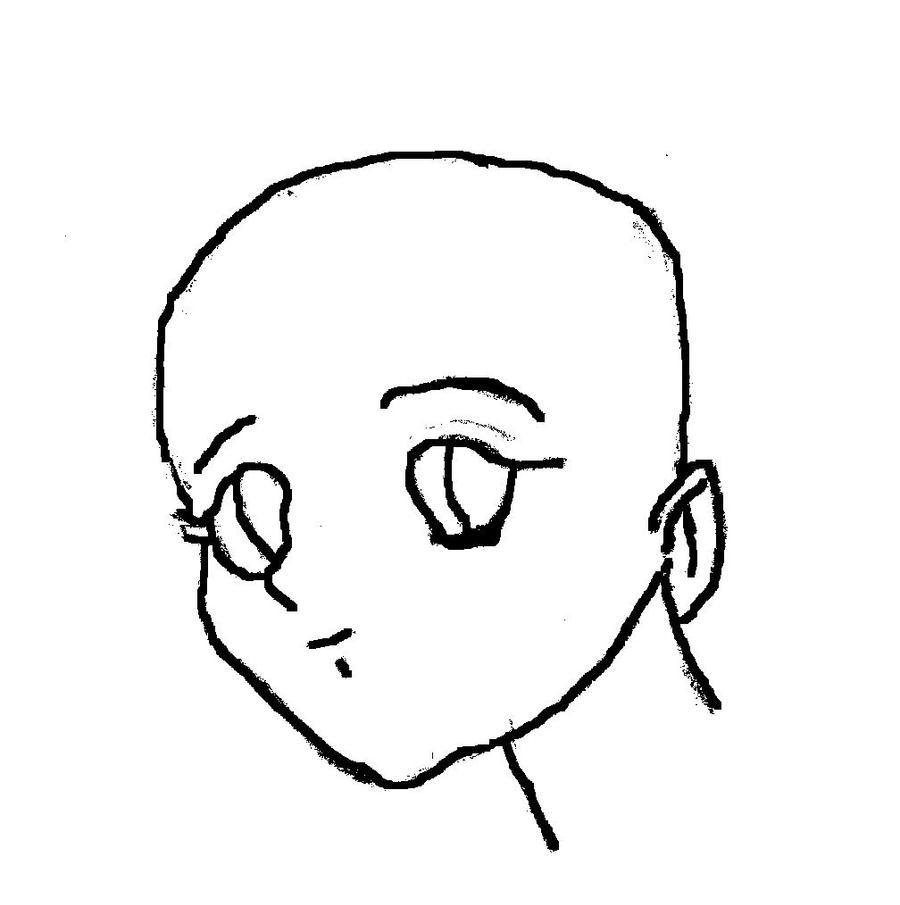 Girl head template anime head template by afidanny on deviantart maxwellsz