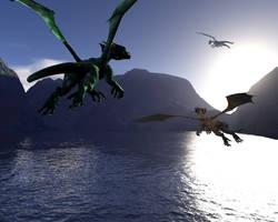 Dragon Lake by elenacalderas