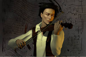 Violinist by elenacalderas