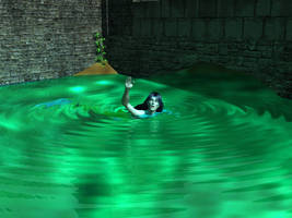 In the Moat by elenacalderas