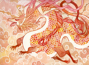 Dragon ride by heikala