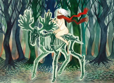 Moose ride