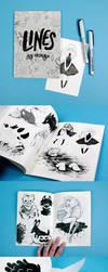 Lines Sketchbook by heikala