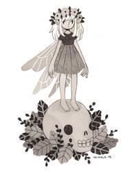 Death Fairy by heikala