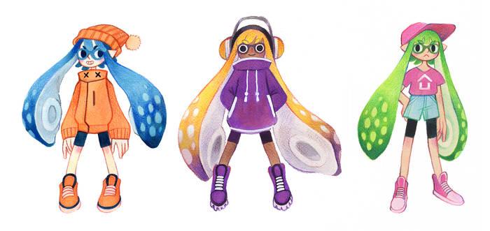 Squid girls