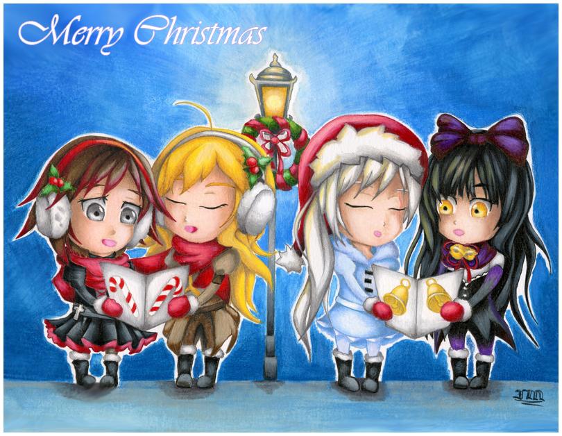 Rwby Christmas.Rwby Christmas Card By Stray Life On Deviantart