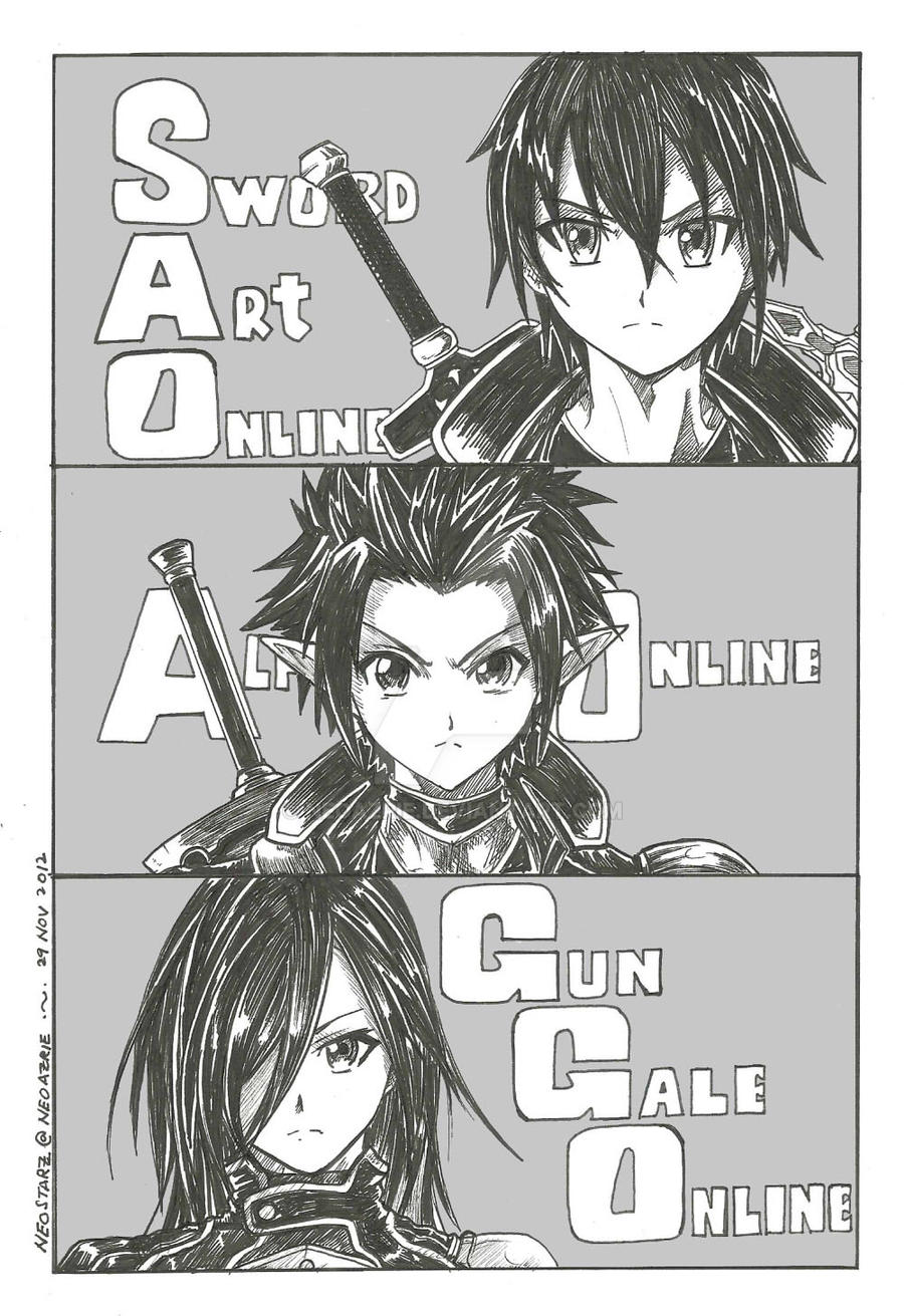 kirito avatar online game by neoazrie on deviantart