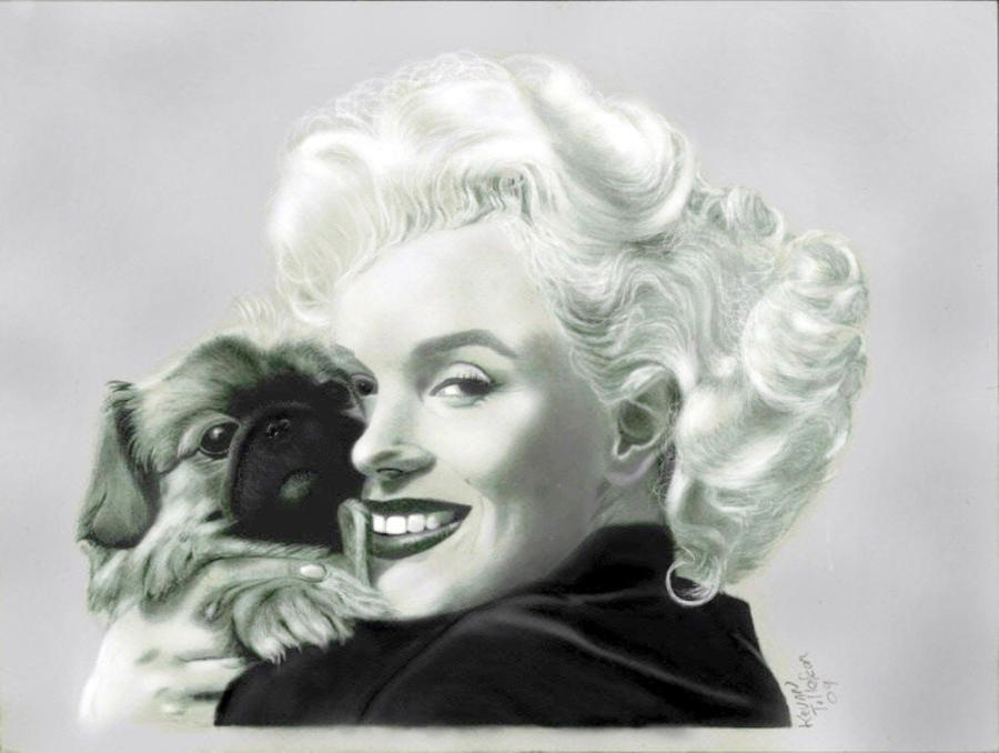 Marilyn Monroe by toolyman